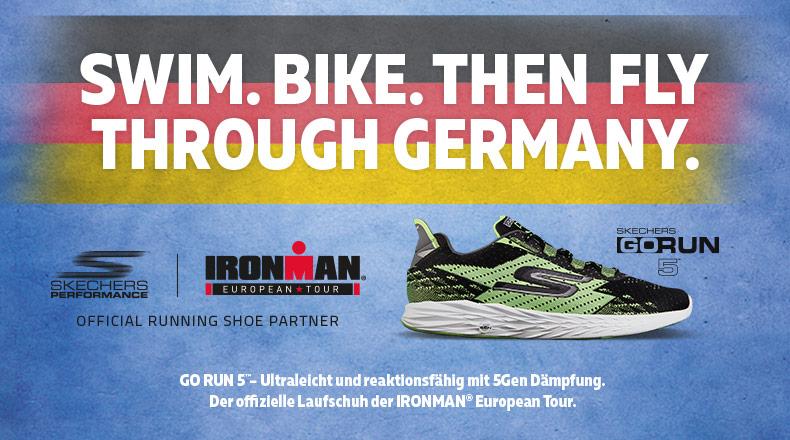 Skechers Performance ist offizieller Running Shoe Partner der IRONMAN® European Tour 2017