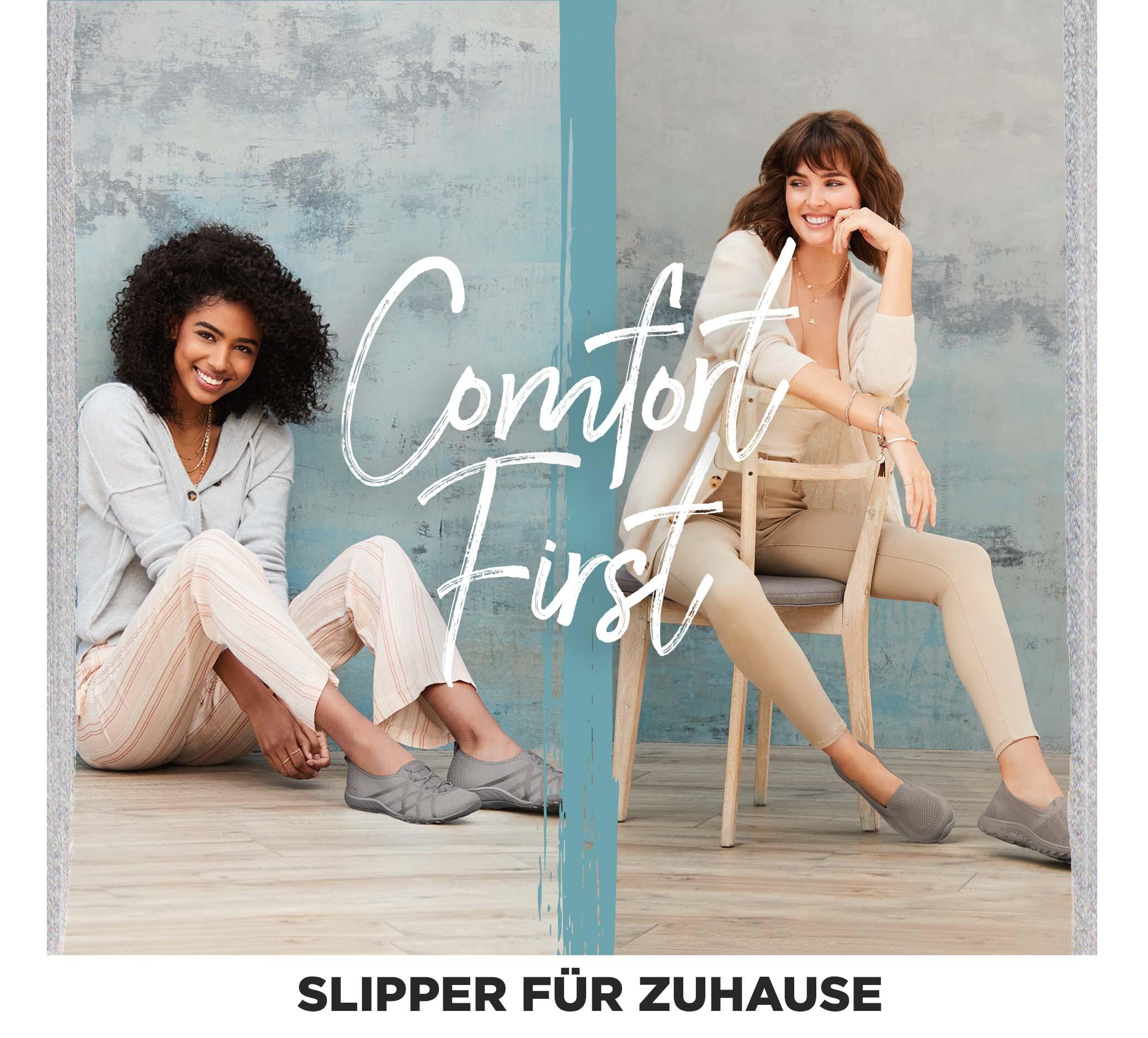 COMFORT FIRST - SLIPPER FüR ZUHAUSE