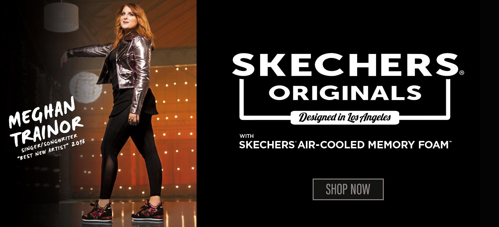 Entdecke Skechers Retro Sneaker mit Originals