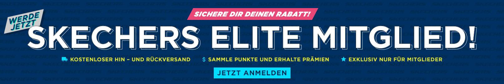 Werde jetzt Skechers Elite Mitglied