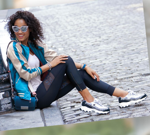 Kaufe Skechers D'Lites Sneaker für Damen