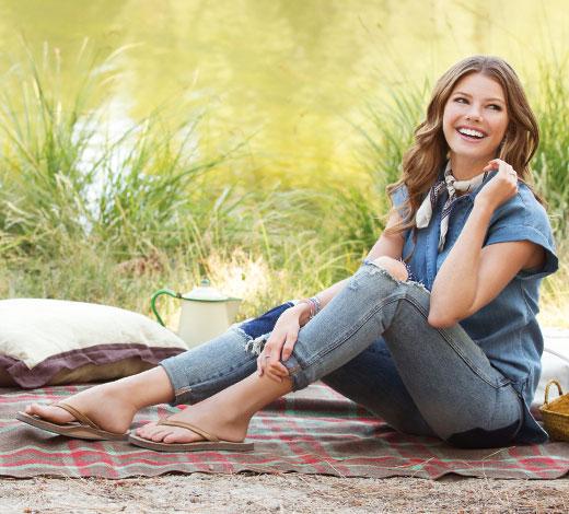 Kaufe Skechers Sandalen für Damen