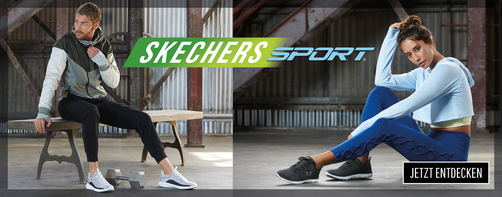 Immer in Bewegung mit Skechers Sport