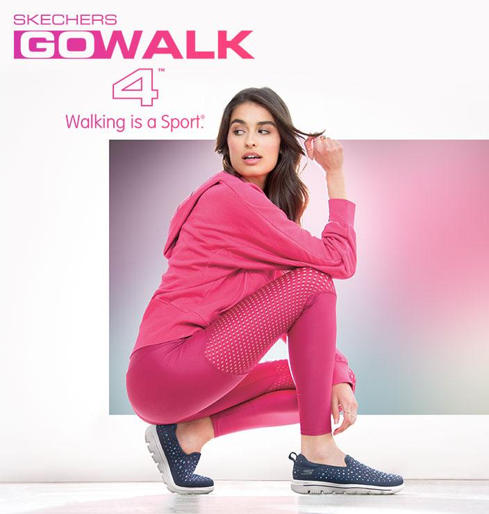 Komfort geht vor mit GOWALK von Skechers!