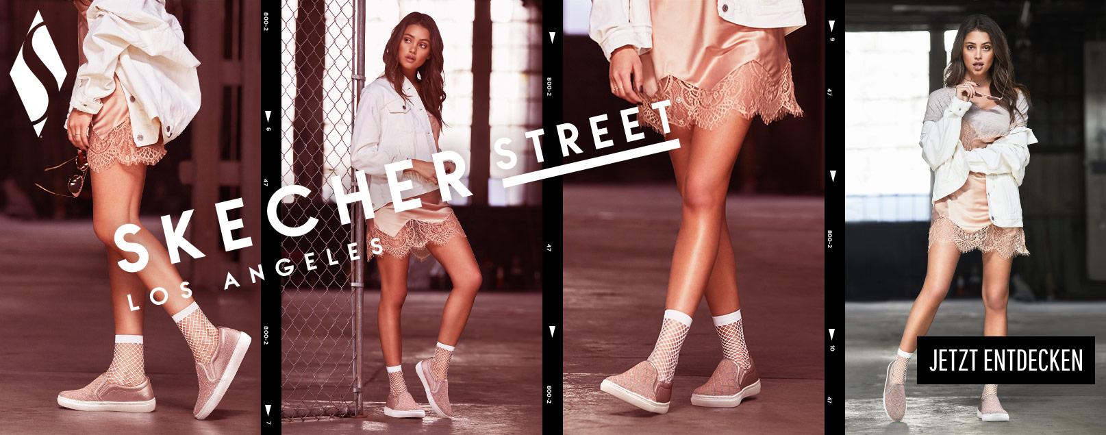 Fashion trifft Komfort mit Skecher Street!