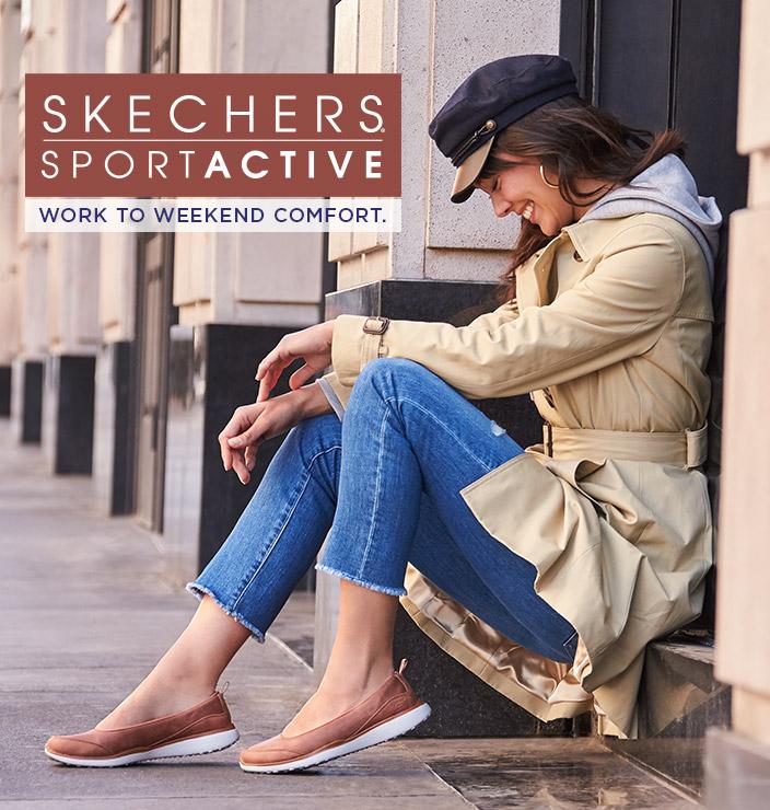 Entdecke Skechers Sport Active!