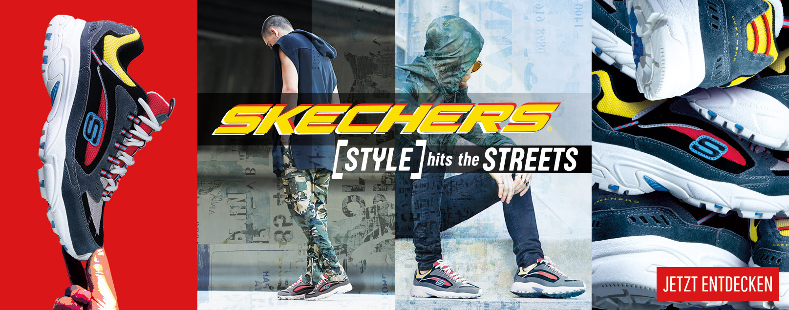 Skechers Streetwear für Herren