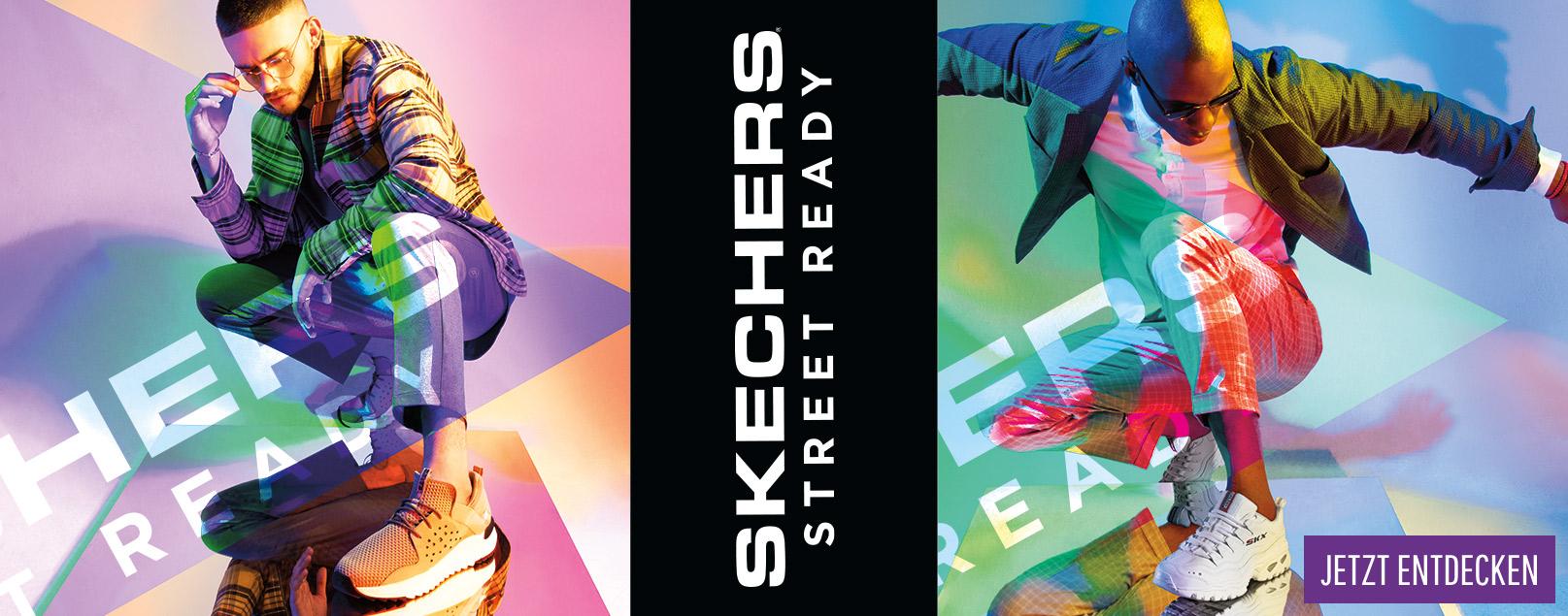 Jetzt die neue SKECHERS Street Kollektion entdecken!