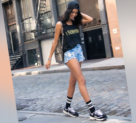 Kaufe Skechers D'Lites Schuhe für Damen