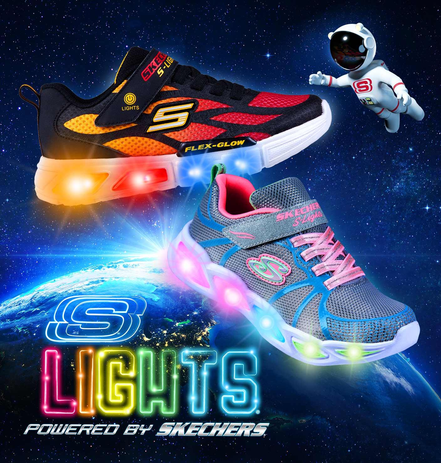 Jetzt die SKECHERS S-LIGHTS Modelle entdecken