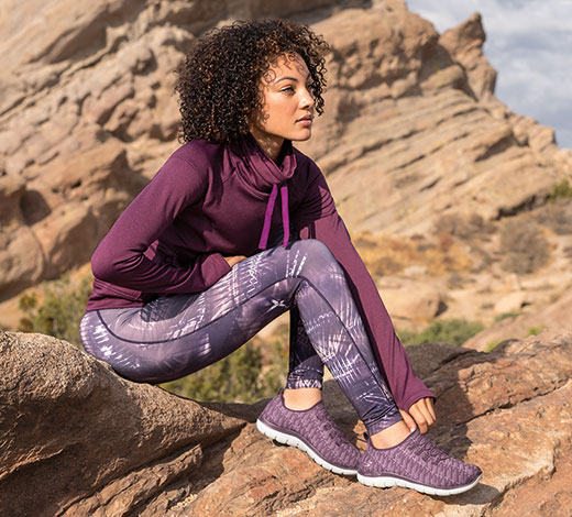 Look great while feeling comfortable with Skechers Flex Appeal Shoes
