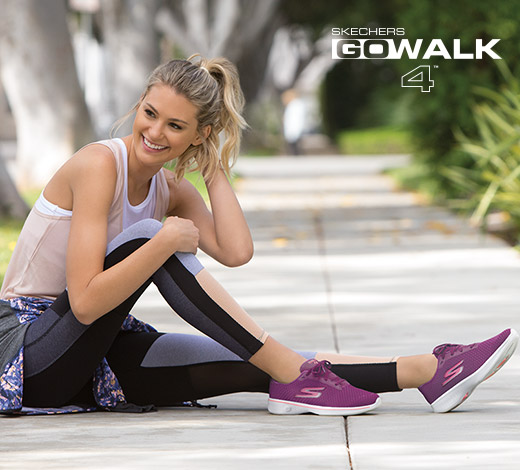 Find women's athletic running, walking and training shoes from Skechers Performance