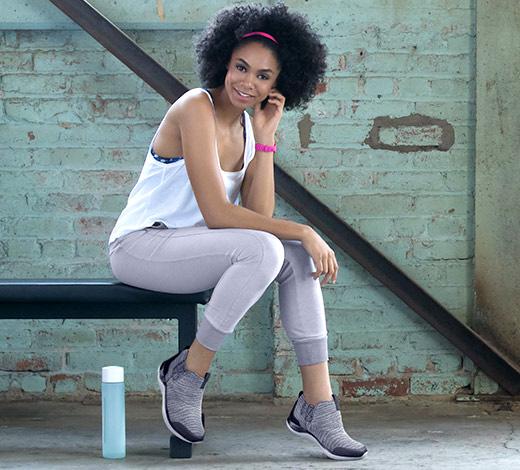 Women's Sport high top sneakers booties