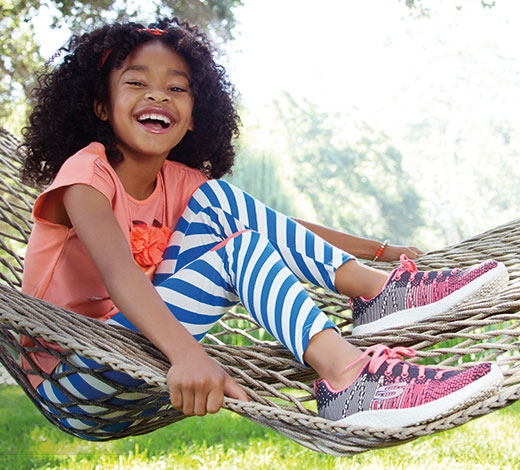 Shop for girls' athletic sport shoes, trainers and sneakers on Skechers.com Canada