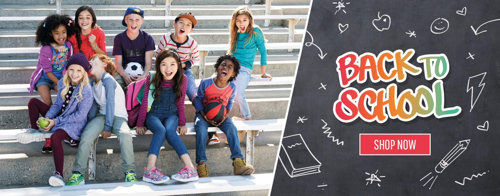Shop back to school boys and girls styles.