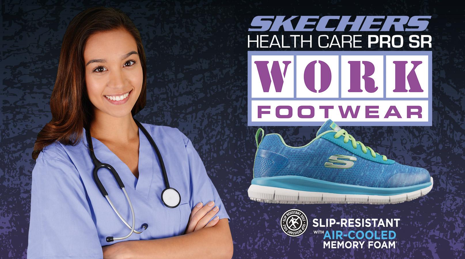 lo mismo Geología Cambio  Skechers Health Care Pro Work Footwear