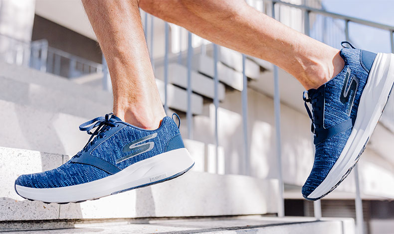 skechers shoes for men blue