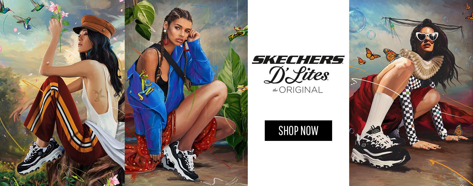 Shop Skechers D'Lites