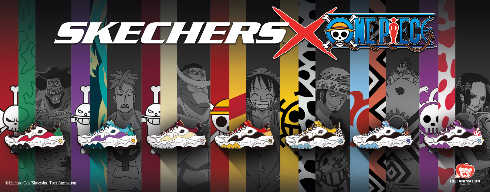 SHOP THE SKECHERS X ONE PIECE COLLECTION