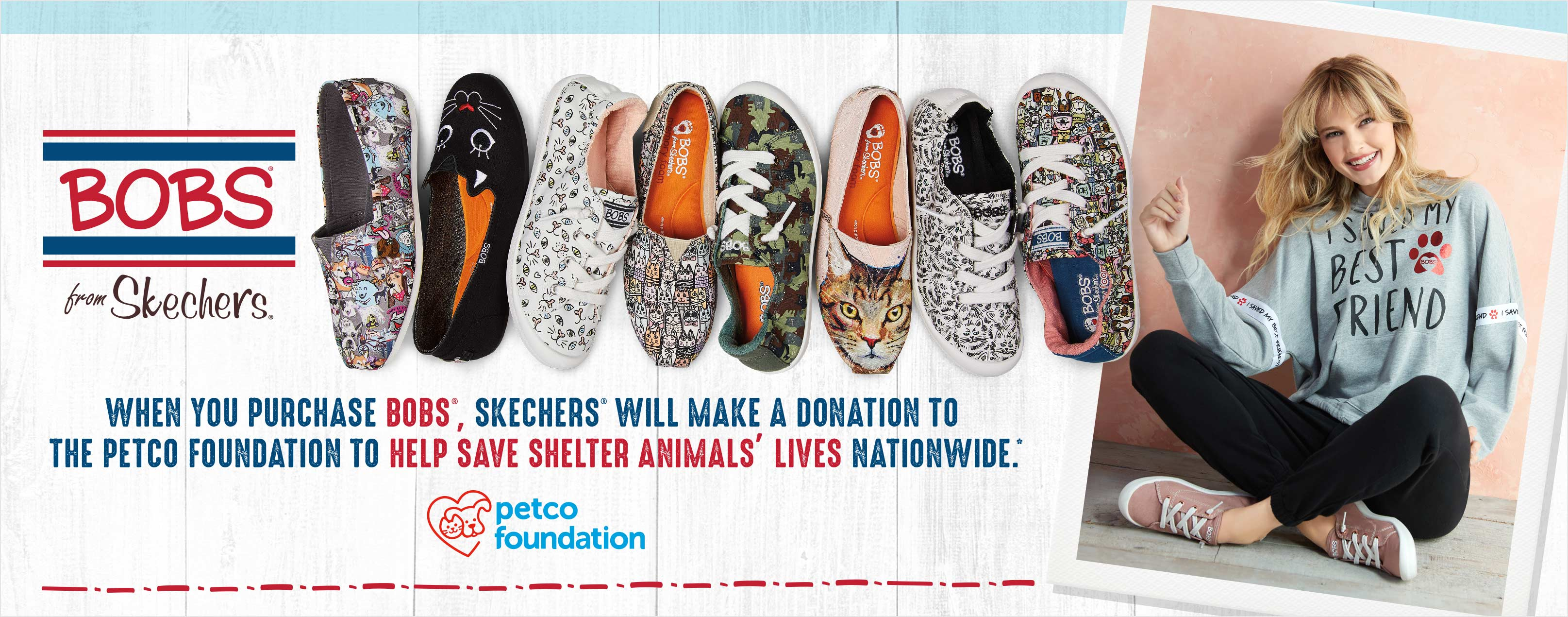 Skechers Bobs for Dogs Partners with Petco®