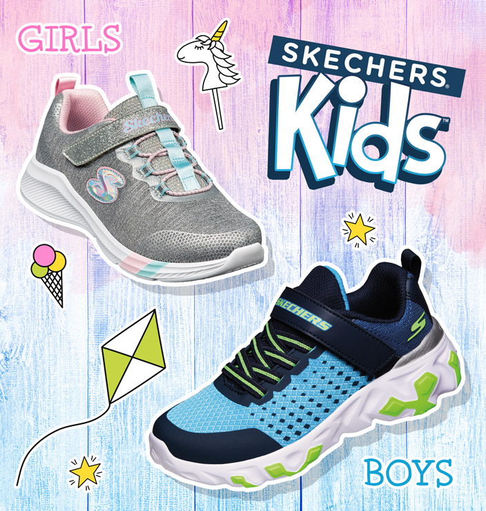 skechers kids sneakers
