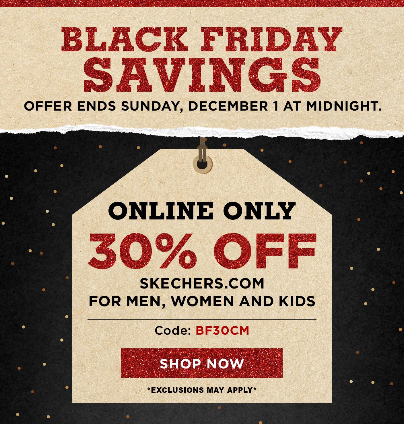 skechers black friday deals