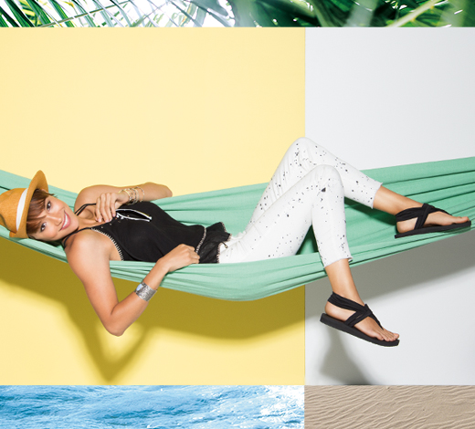 Sandals for her