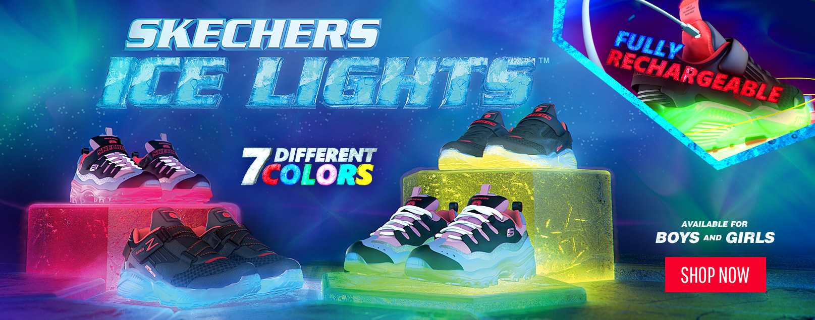 Colorful Kids Skechers