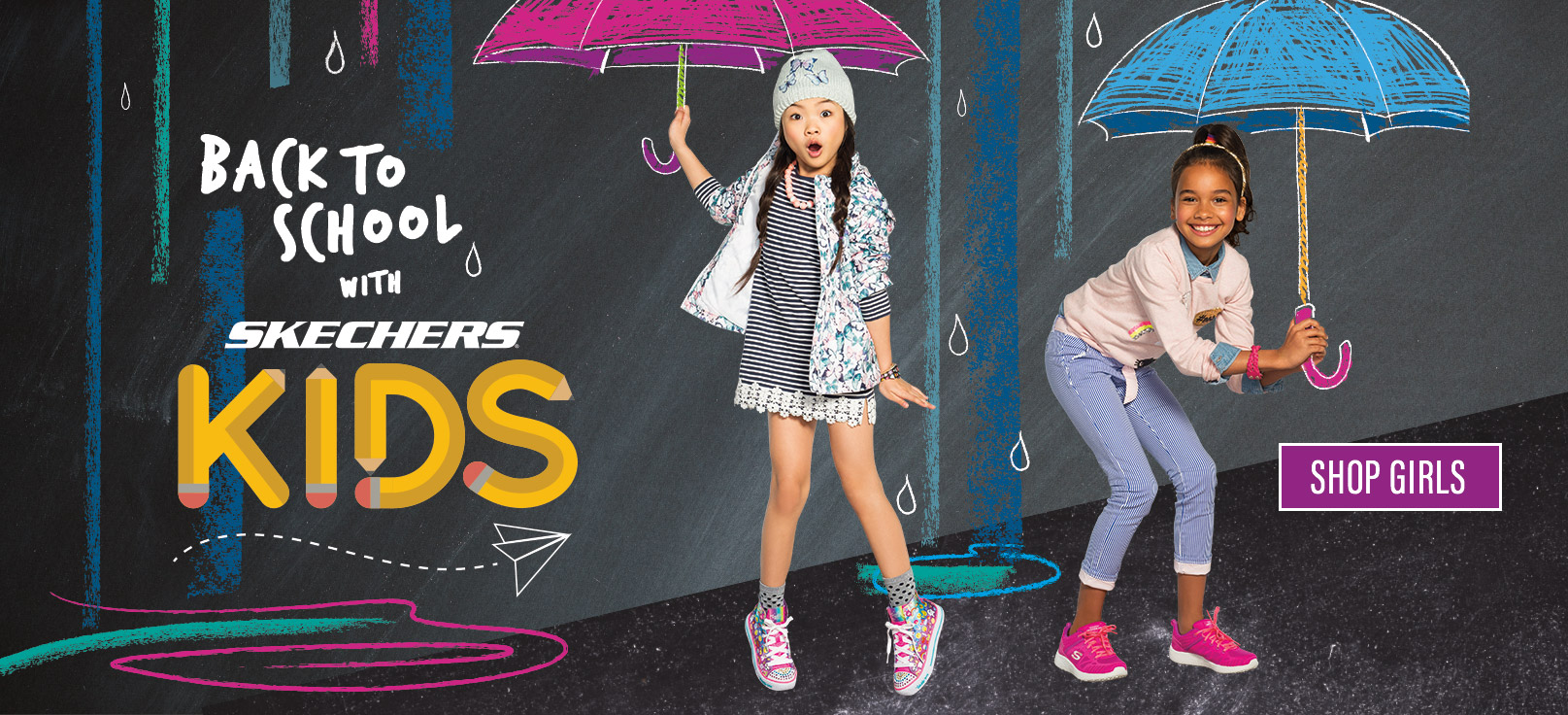 Shop for Girls Skechers Shoes, boots and sandals including Twinkle Toes, Sport, Memory Foam and light up shoes.  Toddler, Pre School and Grade School sizes perfect for Back to School wear.