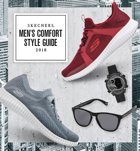 Check out Men's styels for all your comfort and style needs