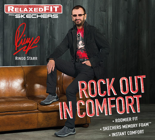 Find men's relaxed fit shoes as worn by Ringo Starr