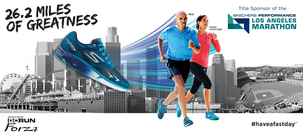 Shop Skechers Performance including the special Los Angeles Marathon 2016 collection