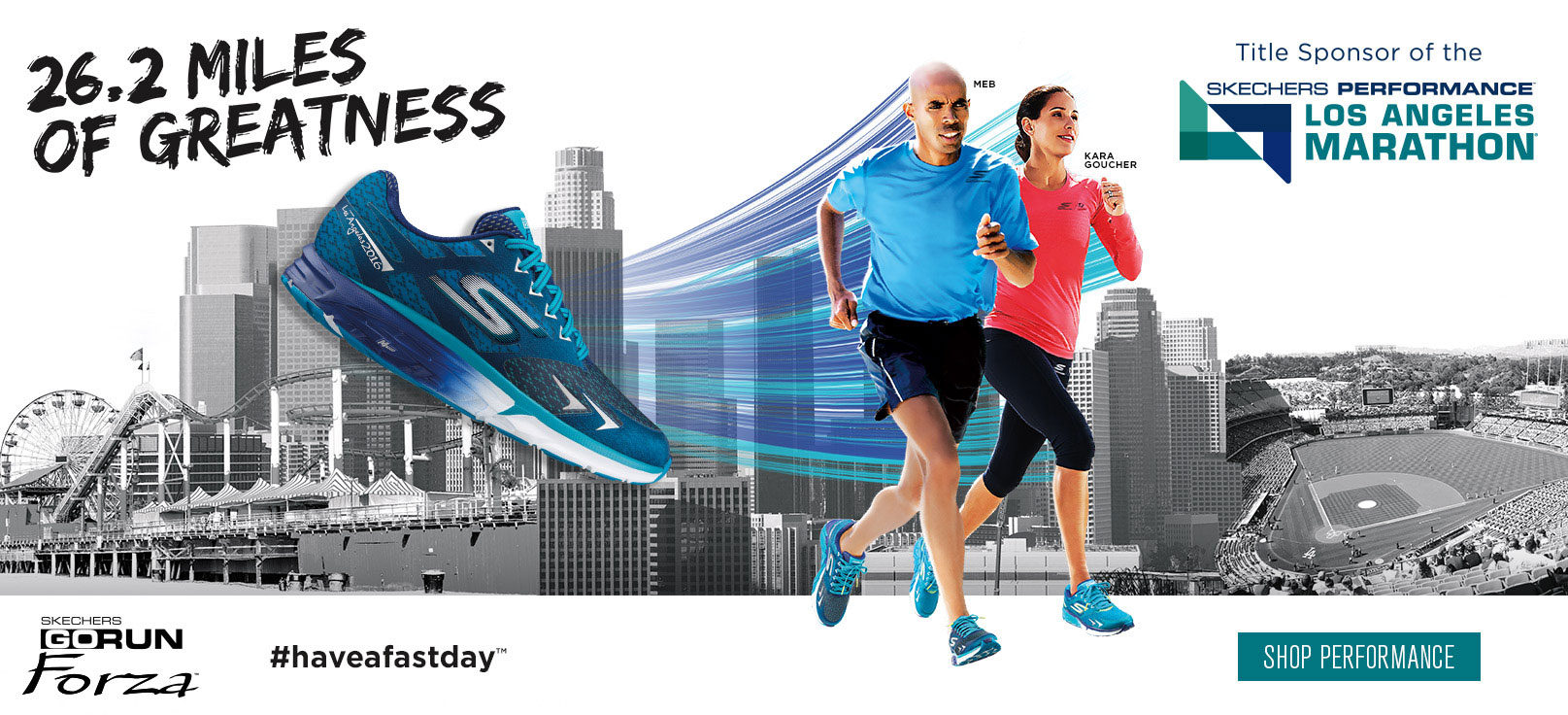 Shop for Performance shoes on skechers.com and keep posted for details about the Skechers Los Angeles Marathon