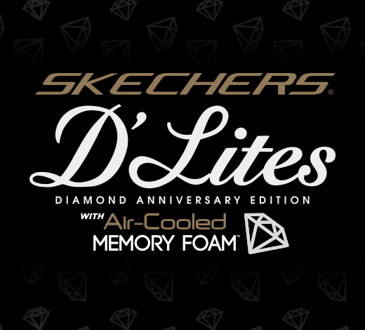 Shop for Skechers D'Lites including special 10th anniversary commemorative edition shoes