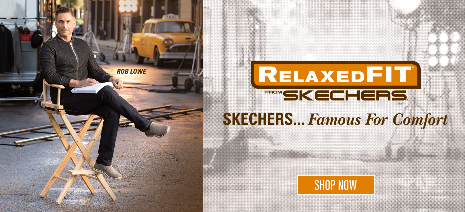 Men's Relaxed Fit shoes as worn by Rob Lowe