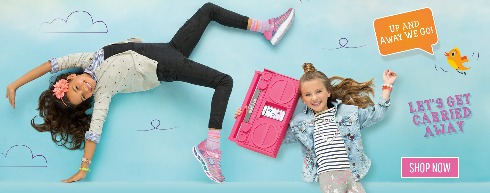 Turn up the volume on Fall style with Skechers Girls' shoes including Twinkle Toes, Energy Lights and Memory Foam sneakers!