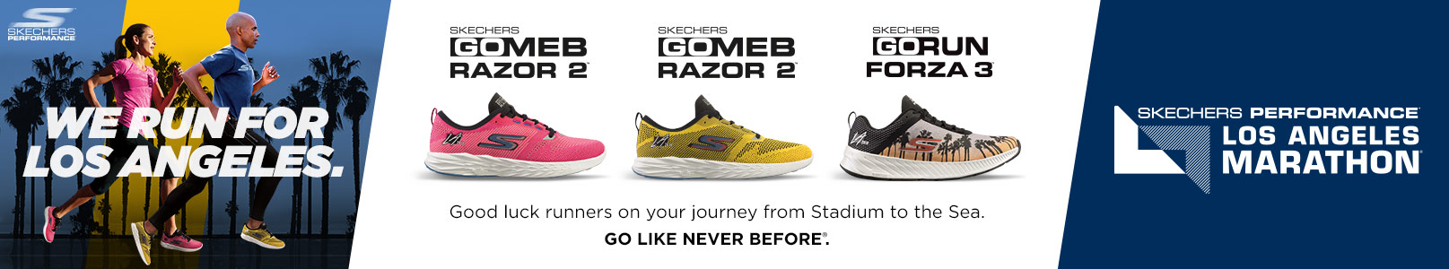 Shop the Skechers Performance Los Angeles Marathon 2018 collection