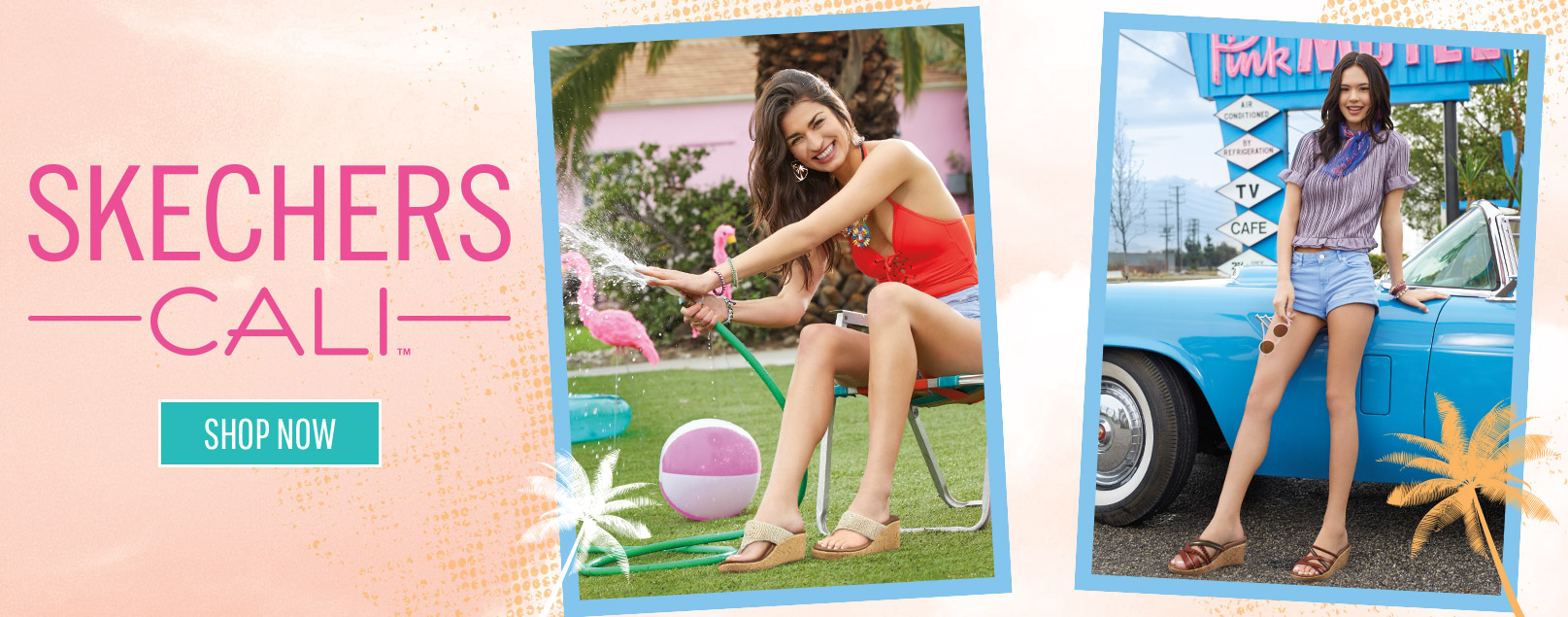 Skechers Cali has the perfect sandals for everywhere you'll go this season!