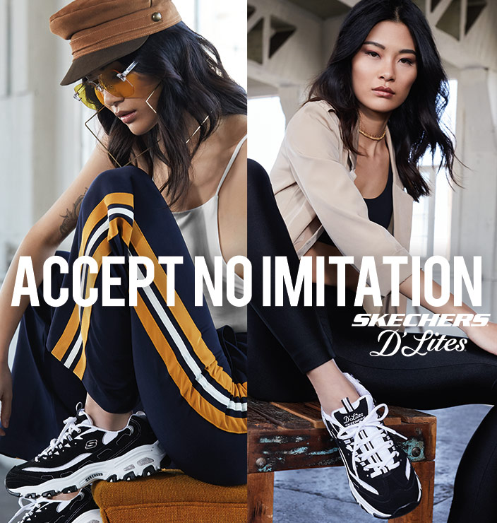 SKECHERS D'Lites Accept No Imitation