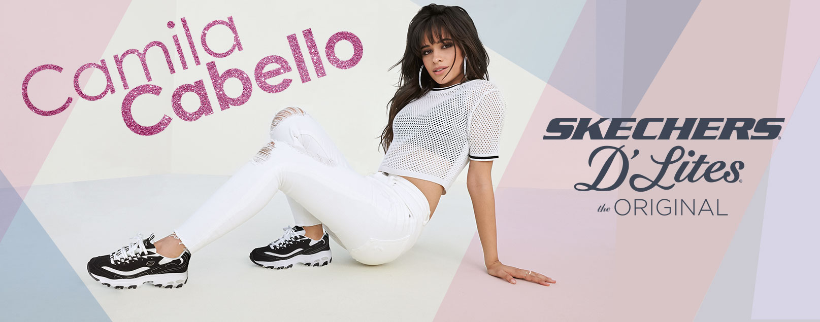 Camila Cabello in SKECHERS D'Lites