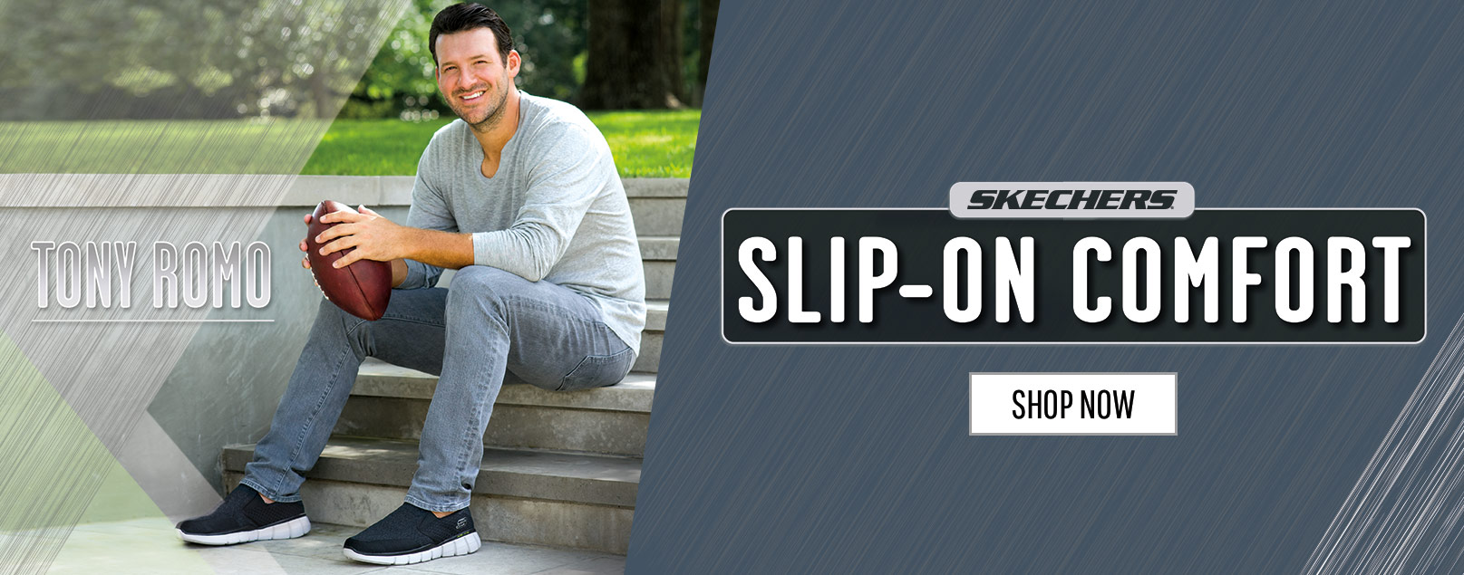 Score some serious style points easily wearing SKECHERS Slip-on Sport Sneakers.  Serious comfort, easy to wear, great athletic looks.