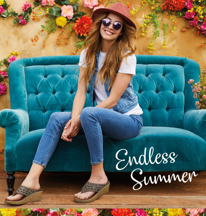 Get the perfect look for sandal season