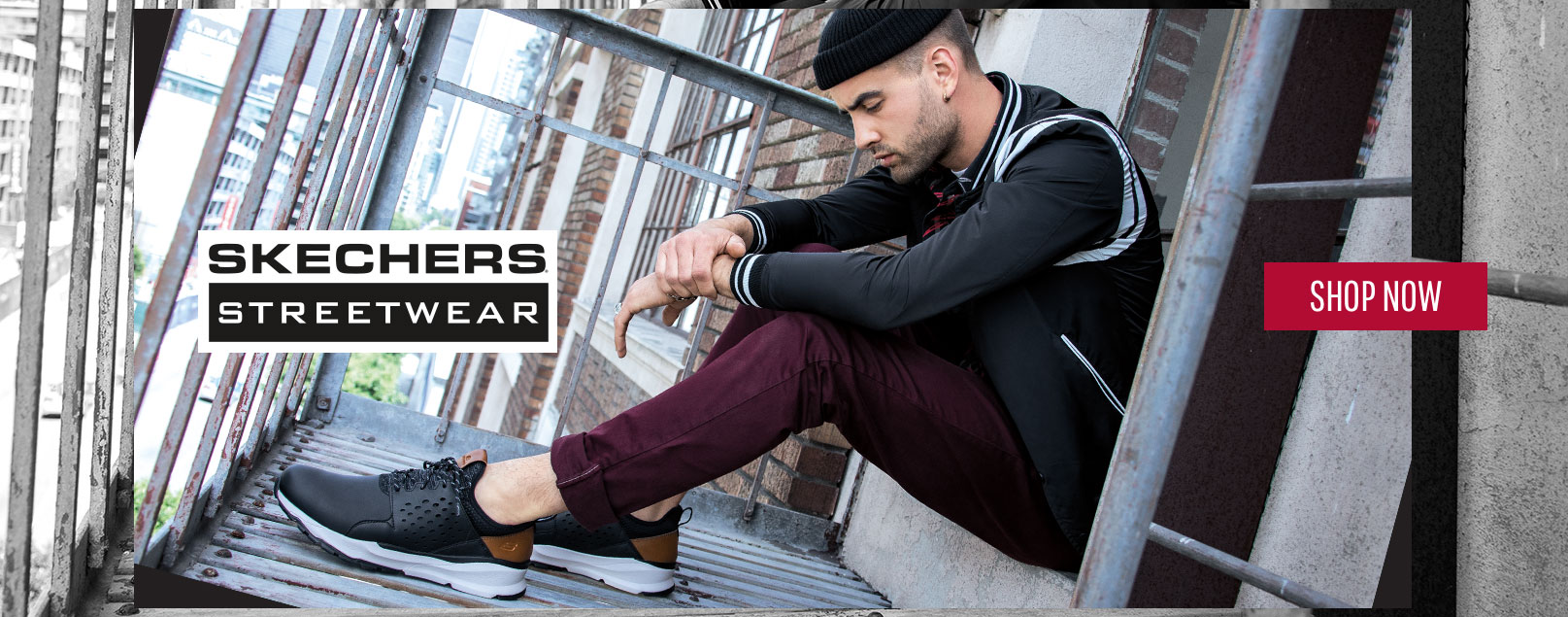 Get a cool urban-inspired style with amazing comfort and wearability with Skechers Men's Streetwear collection.  Unique blends of fabrics, leathers and looks for versatile style and wearable comfort.