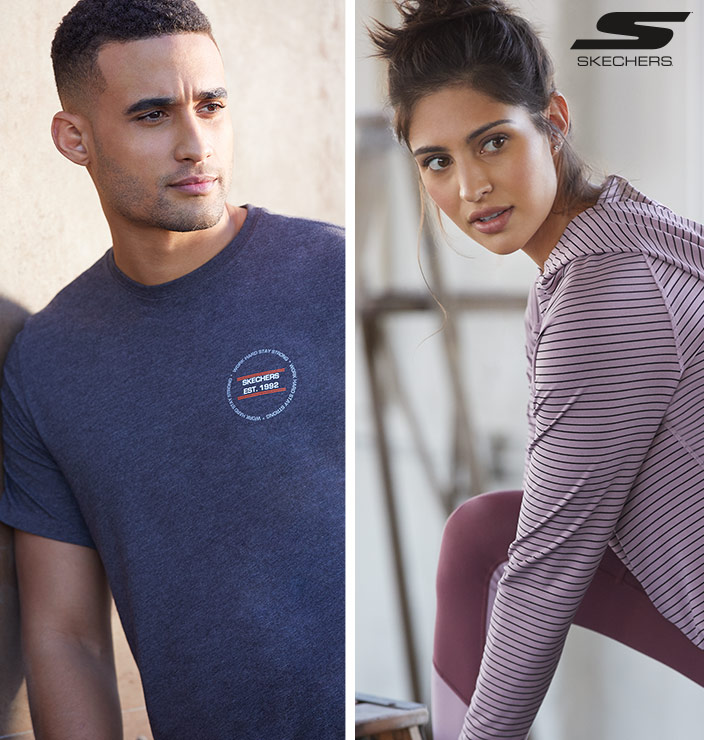 Skechers Performance apparel for style and comfort