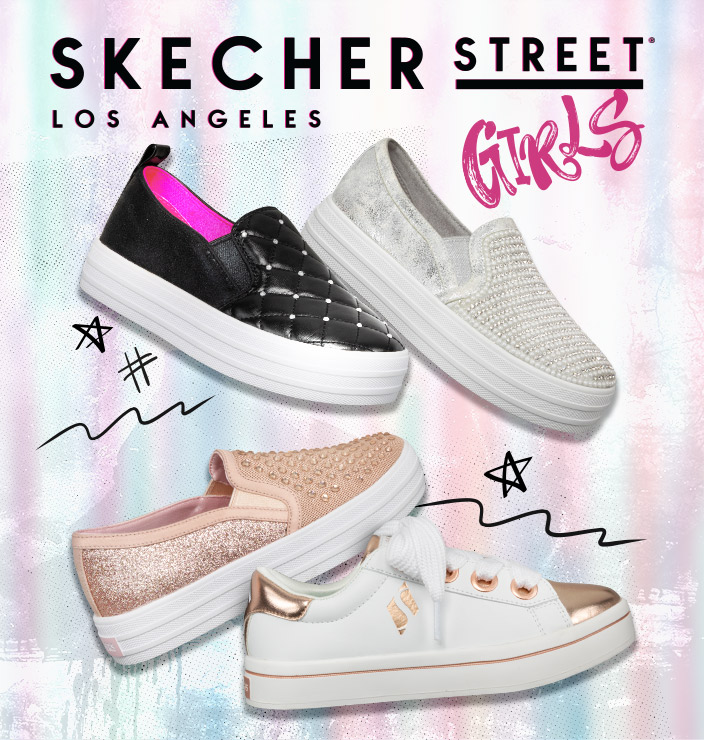 Shop for Skechers Shoes for Girls Online – Free Shipping Both Ways 286ac65e5