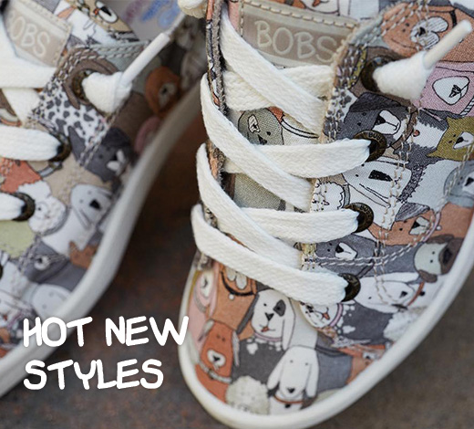 HOT NEW STYLES FROM BOBS BY SKECHERS