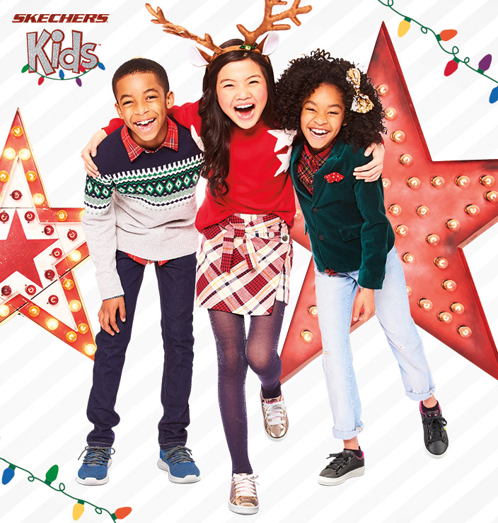 Find the perfect holiday gift for girls and boys on Skechers.com - get them the shoes they want including Energy Lights, Twinkle Toes, athletic sneakers and lots more!