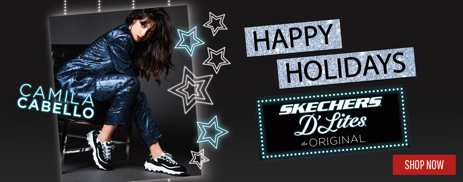 Celebrate your holidays in the year's hottest styles with Skechers D'Lites sneakers.  Find favorite classic looks and cutting-edge new launch looks all with Skechers comfort.