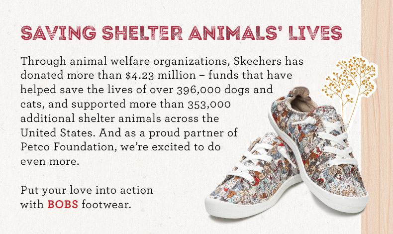 b12f8a646f25f Skechers Bobs for Dogs Partners with Petco®