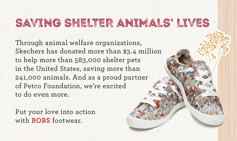 01f244dc13a2 Skechers Bobs for Dogs Partners with Petco®